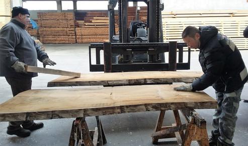 Selezione essenza legno