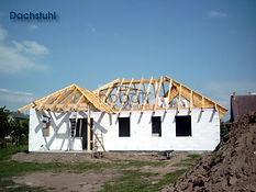 Dachstuhl nach traditioneller Zimmererbauweise
