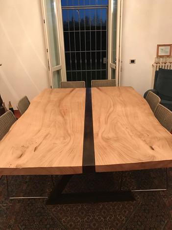 Tavolo in castagno francese
