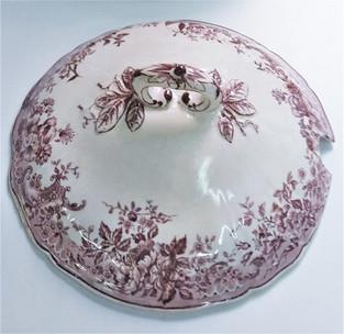 Restauro coperchio in ceramica
