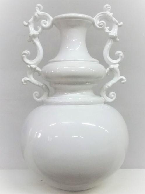 Vaso in ceramica restaurato