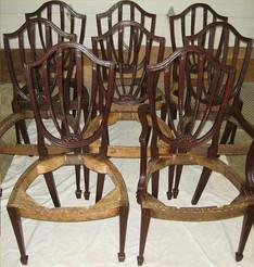 Restauro sedie vintage