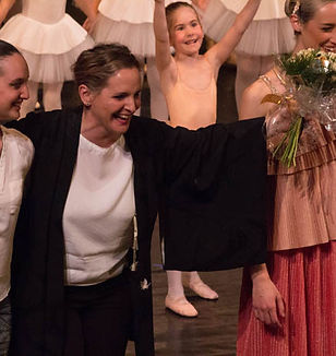 Elisabetta Longhi e Alexandra Foffano, insegnanti della scuola accademica di danza Creare Danza a Santorso (Vicenza)