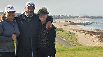 Dana mark and Sue at the glen 18 tee.jpg