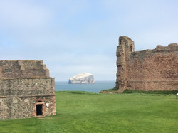 Bass Rock and Castle