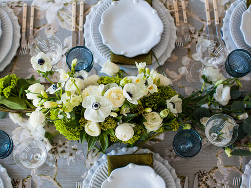 Passover Table Styling