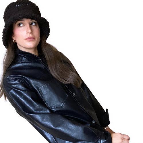 KIMT Bucket Hat in Black