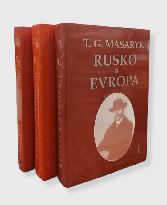 Masaryk T. G., Rusko a Evropa I. - III.