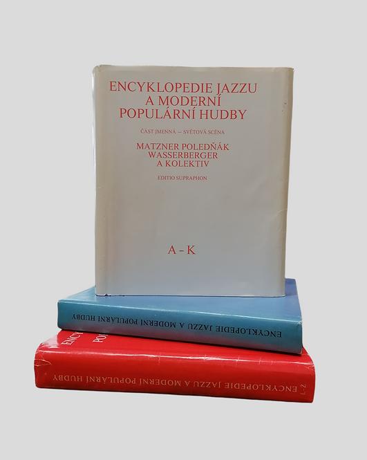 Encyklopedie jazzu a moderní populární hudby I. - III.