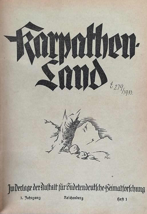 Karpathenland, 5 ročníkov, 1928 - 1932