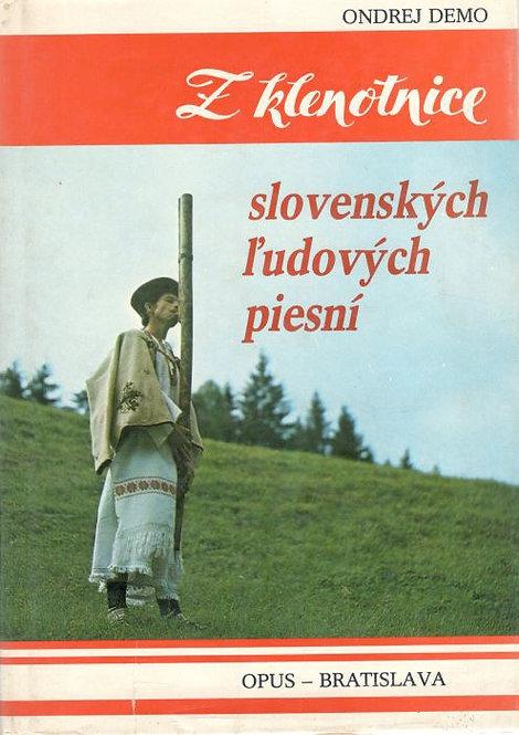 Demo Ondrej, Z klenotnice slovenských ľudových piesní