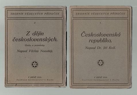 Král, Československá republika - Novotný, Z dějin československých