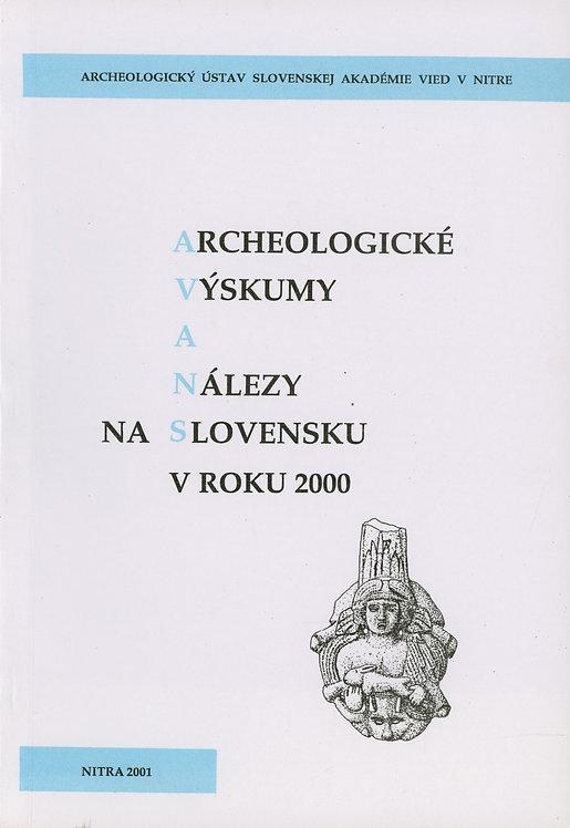 Archeologické výskumy a nálezy na Slovensku v roku 2000