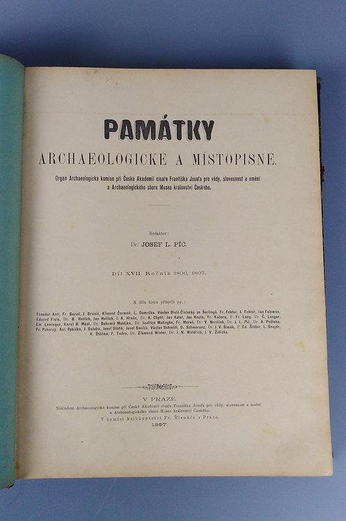 Památky archeologické a místopisné, díl XVII., 1896, 1897