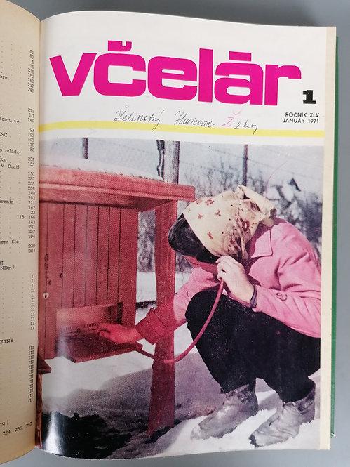 Včelár, ročník XLV, 1971