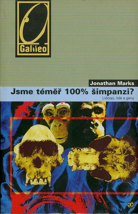 Marks Jonathan, Jsme téměř 100% šimpanzi?