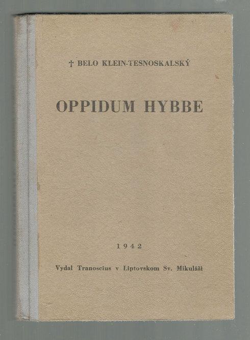 Klein Tesnoskalský Belo, Oppidum Hybbe