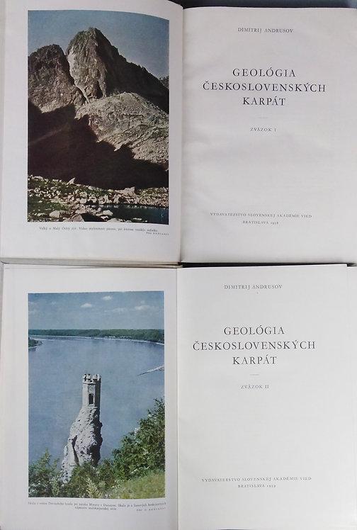 Andrusov Dimitrij, Geológia československých Karpát I. - II.