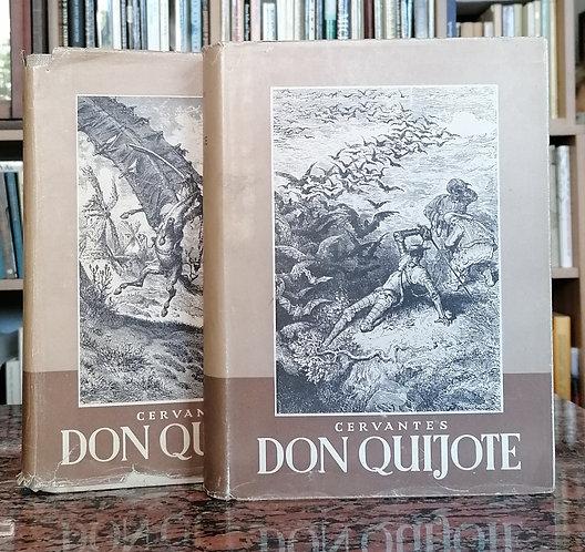 Cervantes, Don Quijote I. - II., ilustrácie G. Dorého