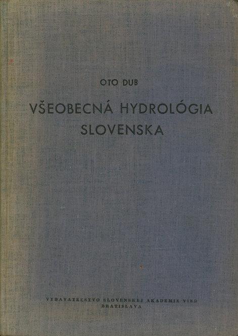 Dub Oto, Všeobecná hydrológia Slovenska
