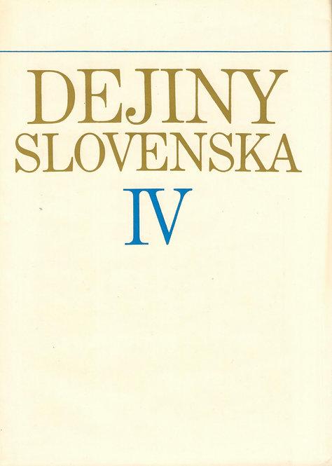 Dejiny Slovenska IV. (od konca 19.stor. do roku 1918)