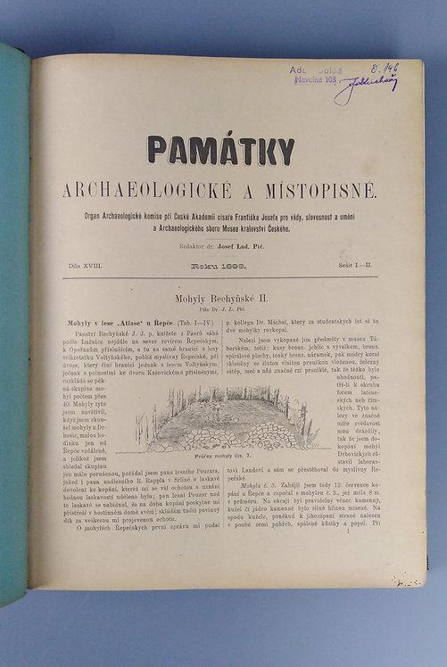 Památky archeologické a místopisné, díl XVIII., 1898, 1899