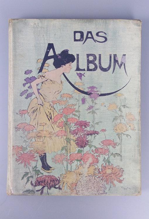 Das Album, mesačník o umení a literatúre s ľahko erotickými ilustráciami, 1901