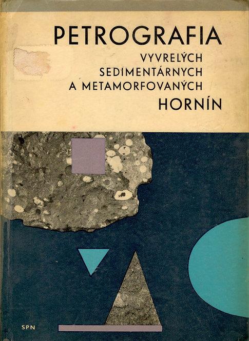 Krist Ernest, Petrografia vyvrelých, sedimentárnych a metamorfovaných hornín