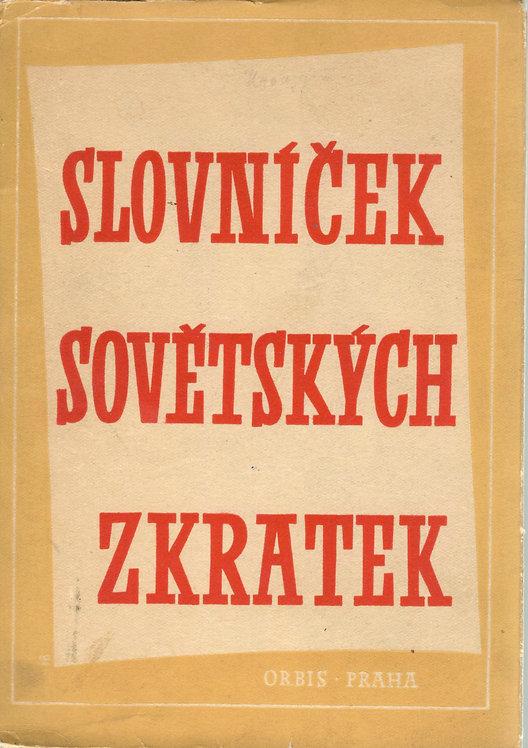 Slovníček sovětských zkratek