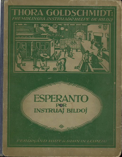 Goldschmidt Thora, Esperanto por Instruaj Bildoj