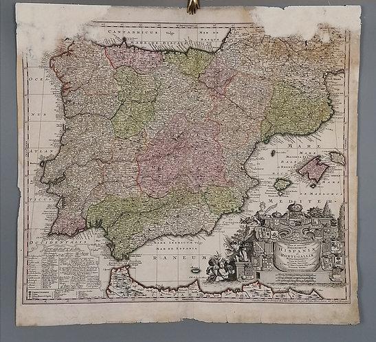 Španielsko a Portugalsko, 1730