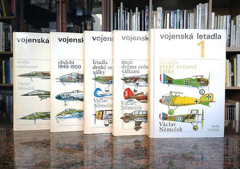 Němeček Václav, Vojenská letadla 1- 5