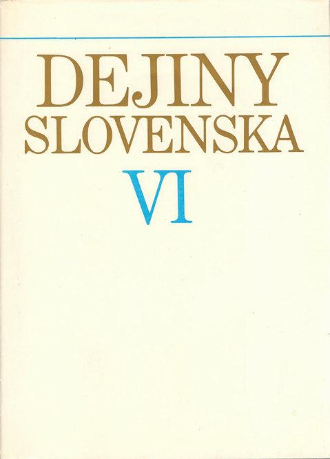 Dejiny Slovenska VI. (1945 - 1960)