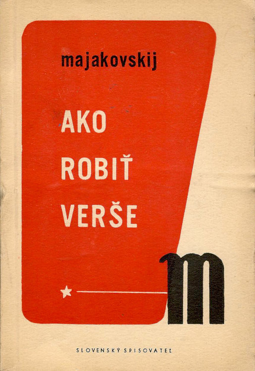 Majakovskij Vladimír, Ako robiť verše