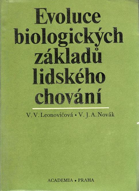 Leonovičová V. V. - Novák V.J.A., Evoluce biologických základů lidského chování