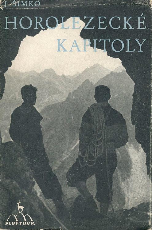 Šimko J., Horolezecké kapitoly