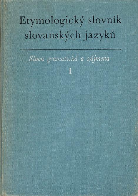 Kopečný František, Etymologický slovník slovanských jazyků