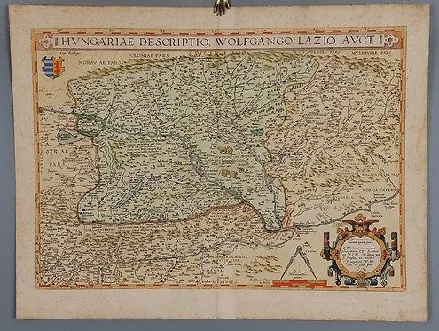 Abraham Ortelius, Mapa Uhorska