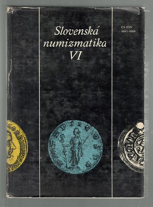 Slovenská numizmatika VI.