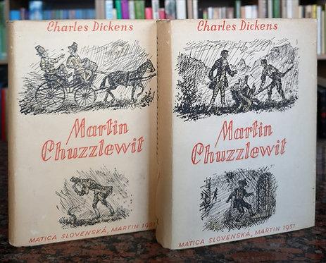 Dickens Charles, Martin Chuzzlewit, I.-II. diel