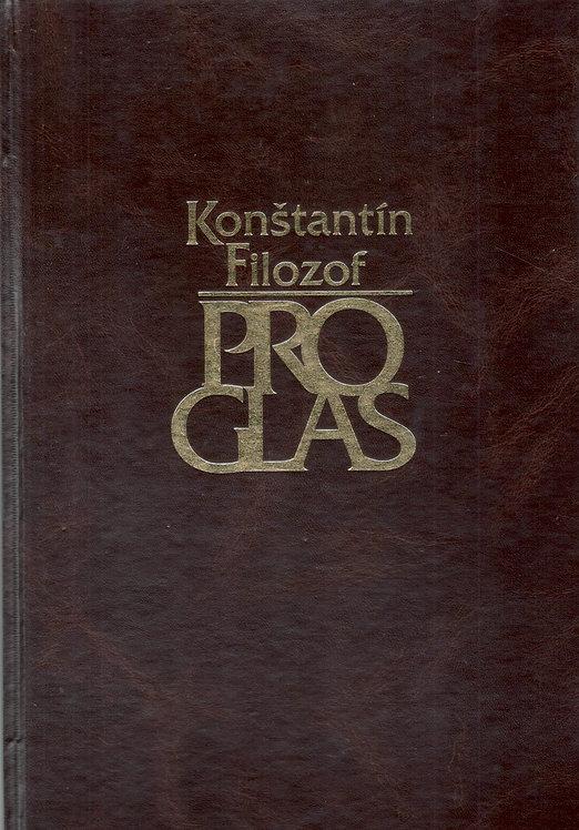 Konštantín Filozof, Proglas