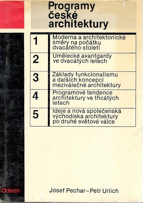 Pechar Josef - Ulrich Petr, Programy české architektury
