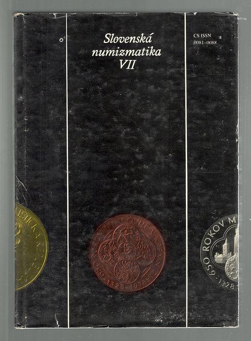 Slovenská numizmatika VII.