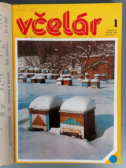 Včelár, ročník LX, 1986