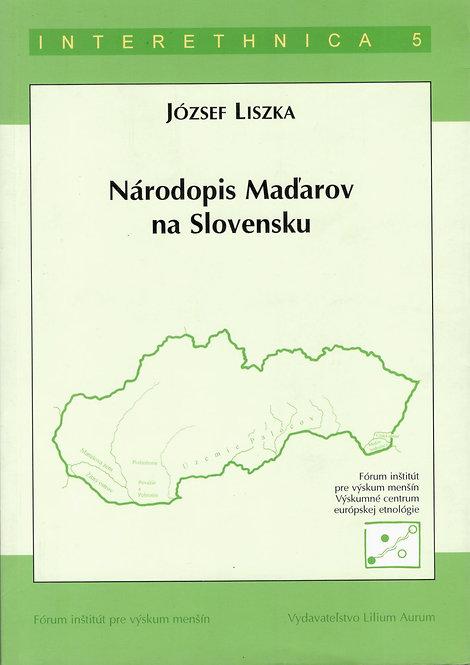 Liszka József, Národopis Maďarov na Slovensku