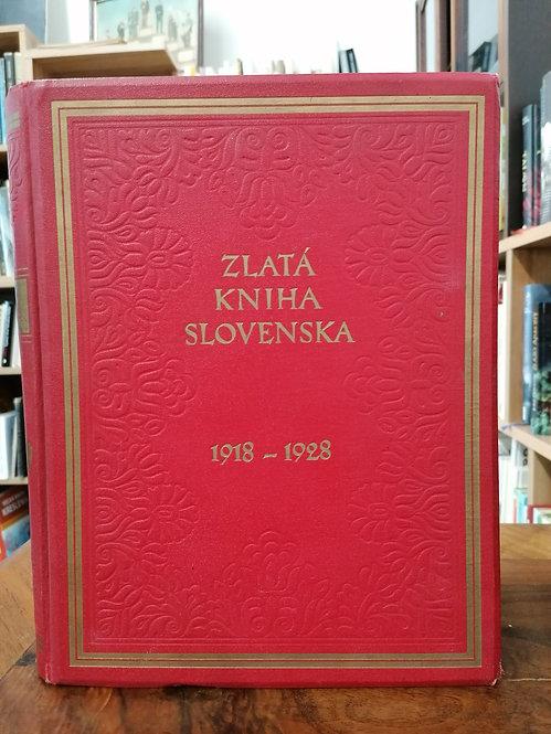 Kolesár Miloš, Zlatá kniha Slovenska 1918 - 1928