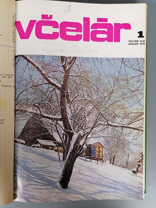 Včelár, ročník XLVI, 1972