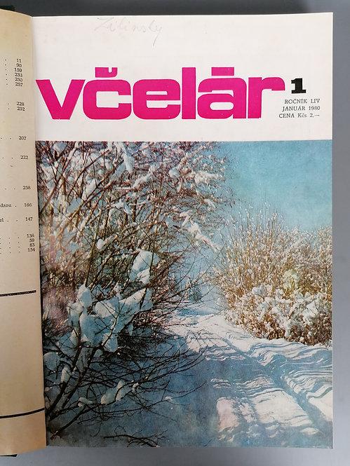 Včelár, ročník LIV, 1980