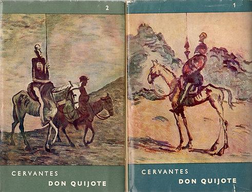 Cervantes Saavedra Miguel de, Dômyselný rytier Don Quijote de la Mancha I. - II.