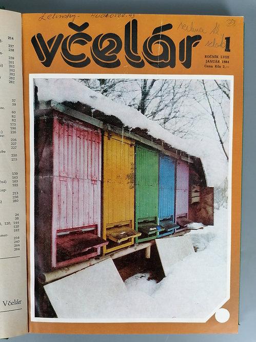 Včelár, ročník LVIII, 1984